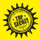 Top secret stamp Royalty Free Stock Image