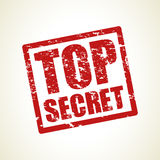 Top secret stamp background Royalty Free Stock Photo