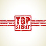Top secret stamp background Royalty Free Stock Photography