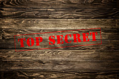 Top secret stamp Royalty Free Stock Photos
