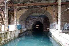 Top secret submarine base of the soviet union ukraine Royalty Free Stock Photography