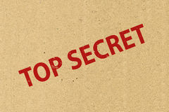 Top secret symbol Stock Photo