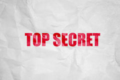 Top secret symbol Stock Photography