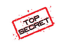 Top secret - vettore Fotografie Stock