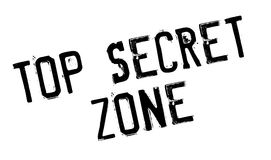 Top Secret Zone rubber stamp Royalty Free Stock Photo