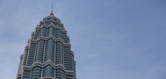 Top section of Petronas tower Stock Images