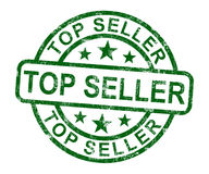 Top Seller Stamp Shows Best Services Or Products Royalty Free Stock Image