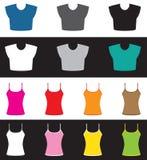 Top and shirt set Royalty Free Stock Photos