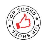 Top Shoes rubber stamp Stock Photos
