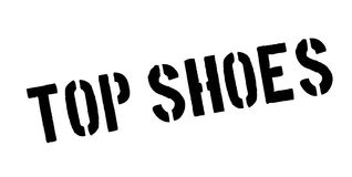 Top Shoes rubber stamp Royalty Free Stock Photos