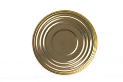 Top side of can Stock Photos