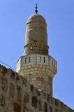 Top of Sidna Ali Mosque Minaret. Stock Photography