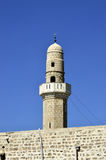 Top of Sidna Ali Mosque Minaret. Royalty Free Stock Images