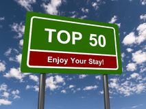 Top 50 sign stock images