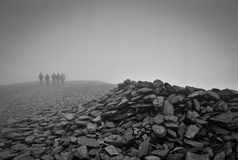 Top of Skiddaw Royalty Free Stock Photo