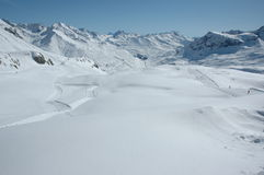 Top Skiing Region Arlberg Royalty Free Stock Photography