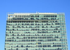 Top of skyscraper Royalty Free Stock Photo
