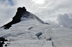Top of Snaefellsjokull volcano. Stock Photography