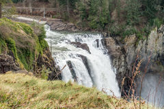 Top OF Snoqualmie Falls Royalty Free Stock Image