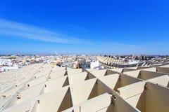 From the top of the Space Metropol Parasol, Setas de Sevilla, on Stock Photos