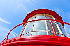 Top of the St. Augustine Light tower royalty free stock photos