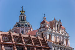 Top of St Casimir church Stock Photography