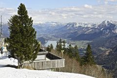 Top of St Gilgen. The best place I've ever been, may be because my birhtday was there Royalty Free Stock Photo