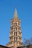 Top of St. Sernin church Royalty Free Stock Photos