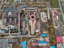 Smoke stack chimney royalty free stock image