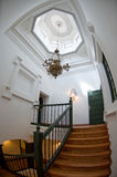 Top of the stair in a stately home Royalty Free Stock Image