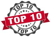 Top 10 Stempel Lizenzfreie Stockfotos