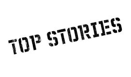Top Stories rubber stamp Royalty Free Stock Photography
