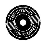 Top Stories rubber stamp Stock Images