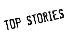 Top Stories rubber stamp Stock Photos