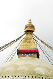 Top of the Swayambhunath stupa, Kathmandu, nepal Royalty Free Stock Images