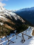 Top of Swiss Alps Royalty Free Stock Images