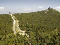 Top of Szrenica Royalty Free Stock Photos