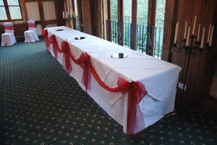 Top Table Royalty Free Stock Photography