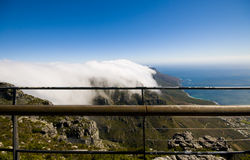 Top of table mountain Royalty Free Stock Photo