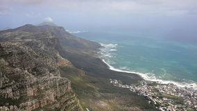 Top of the table mountain, Cape Town Royalty Free Stock Photo