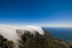 Top of table mountain Royalty Free Stock Images
