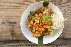 Top tailandés del cojín del pollo abajo Fotografía de archivo libre de regalías