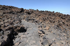 On top of Teide Volcano, Tenerife Royalty Free Stock Images