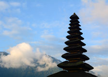 Top of the temple in Bali, Indonesia Royalty Free Stock Photo