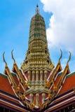 Top of temple at Wat Phra Kaew Stock Photography