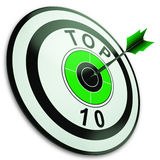 Top Ten Button Shows Best Rated Stock Photography