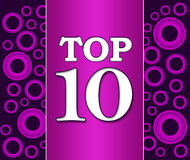 Top Ten Purple Pink Background Royalty Free Stock Images