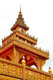 Top of Thai temple Stock Photo