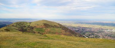 Top of theMalvern hills Royalty Free Stock Photo