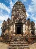 Top Three Castle. Top three ancient castle at Lopburi Royalty Free Stock Image